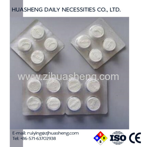 8pcs per Aluminum Foil package compressed tablet