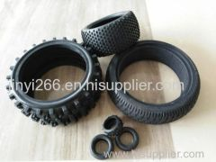 wear-proof silicone rubber car wheel