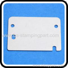 Haute qualité et de précision en acier inoxydable plaque métallique avec trou