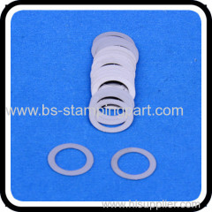 High quality and precision stainless steel circle shape flat washers