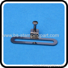 metal spring retaining clip strip types