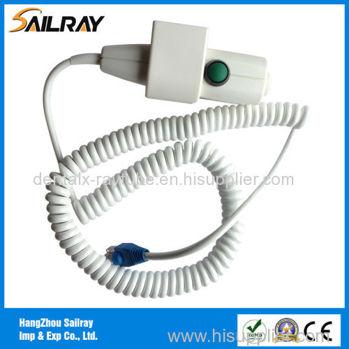 6cores 5m Two Step X-ray Hand Switch with Collimator Light Button and RJ45 Connector