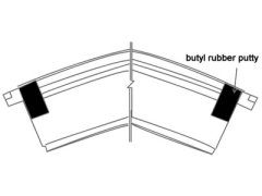 butyl rubber putty products