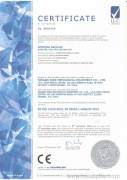 CE certificate for coil winding machine