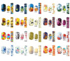 customer design 3D water decals nail sticker