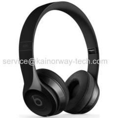 New Beats by Dr.Dre Beats Solo3 Wireless Portable Over Ear Headband Headphones Black