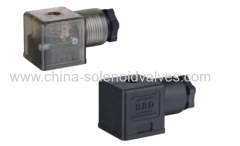 DIN43650A black or white or brrown connector