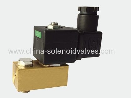 3 way valve for angle seat valve