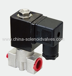 solenoid valve for drinking water treatment