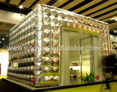 Silver Facet Inflatable tent For Exhibit Show