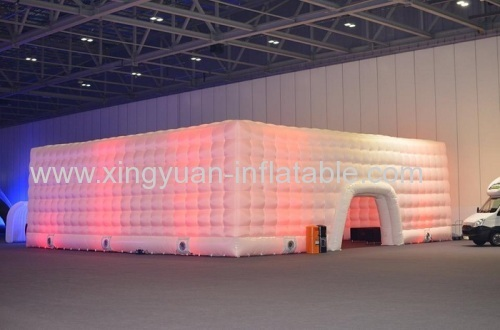 Led Lighting Cube Inflatable Tent