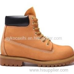 Safe Work Shoe Steel Toe Upper Leather