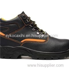 Safety Work Boot Steel Toe Upper Leather Shoe