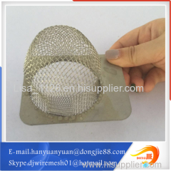 Small Stainless steel mesh filter tube Have a long service life