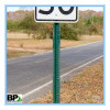 steel u channel sign post for traffic safety sign with stock