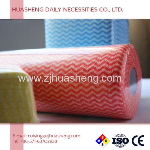 Hhigh Absorbent Performance Non woven Cleaning Wipe/viscose material nonwoven