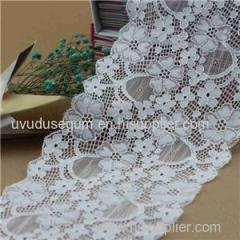 17Cm Floral Design Galloon Lace Wide Stretch Lace (J0046)