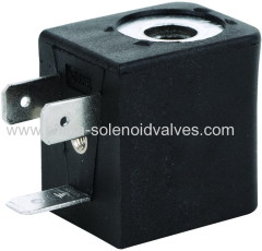 thermosetting solenoid coil for pneumatic