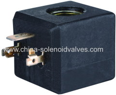 thermosetting solenoid coil for pneumatic hydralic