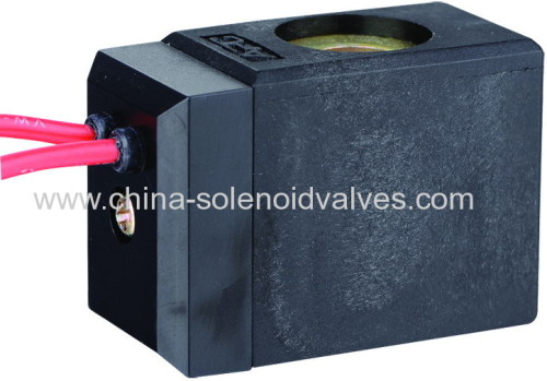 thermosetting solenoid coil for pneumatic valve