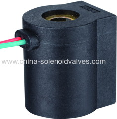 thermosetting solenoid coil for pneumatic car fittings