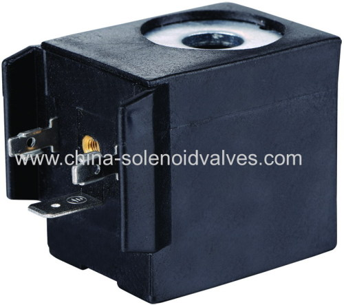 thermosetting solenoid coil for pneumatic steam