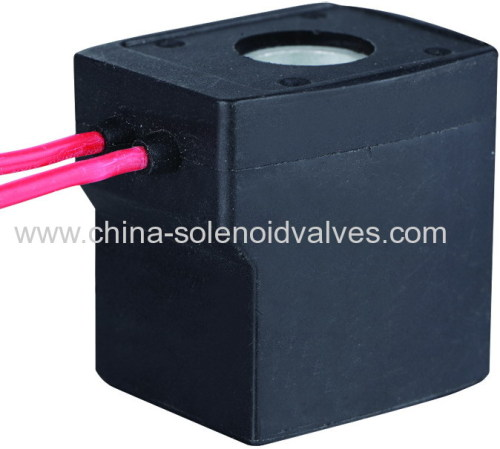 thermosetting solenoid coil for hydraulic pneumatic