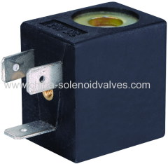 thermosetting solenoid coil for mini solenoid valve