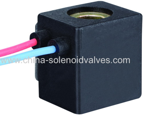 thermosetting solenoid coil for mini solenoid valve with flying leads