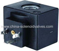 thermosetting solenoid coil for hydraulic pneumatic application