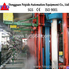 Feiyide Automatic Rack Electroplating Production Line for Zinc Silver Plating With Best Quality