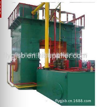 big carbon steel tee cold making hydraylic machine