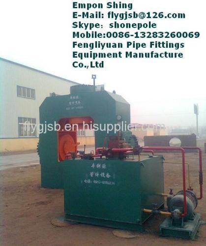 tee cold making hydraylic press