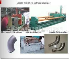 carbon steel elbow making hydraulic machine