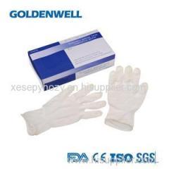 Medical Latex Examination Gloves With Powder