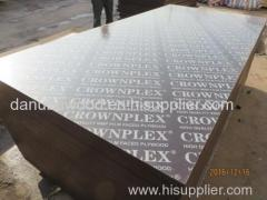 CROWNPLEX BRAND FILM FACED PLYWOOD