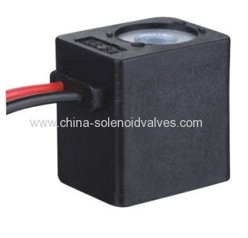 thermosetting solenoid coil for pneumatic solenoid valve