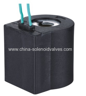 thermosetting solenoid coil for pneumatic car fitting application