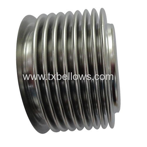 WDG type stainless steel 316L bellows