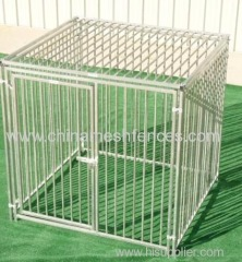 European Style Dog Kennel with Metal Solid Roof
