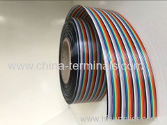 Smart bes~0.3 flat cable 40 rows Rainbow Cable ul2651 flat cable 61 meter roll