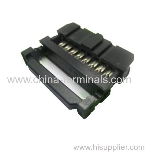 IDC Socket 2.54mm Pitch Connector 94V-0 Three piece FC 6-64P