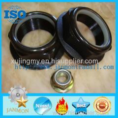 High Strength Nylon Lock Nut High tensile nylon lock nut Black oxide grade 8 nut Zinc nylon lock nut castle nut zinc