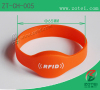 RFID oval silicone wristband Product model:ZT-CH-005