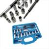 17pcs Diesel Injector Seat Cutter Set Universal Tool Kit