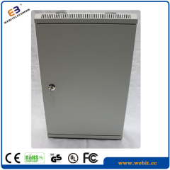Grey color slim wall mounting cabinet