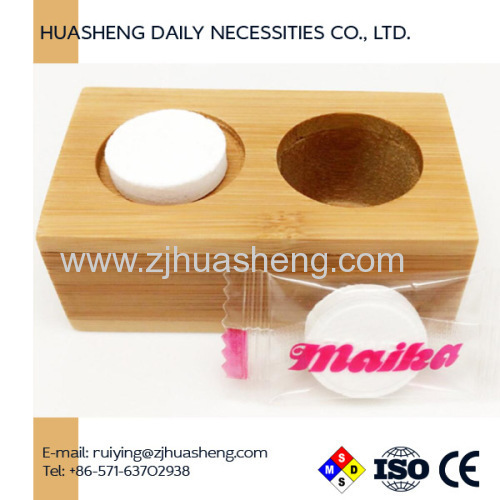 Bamboo Trays for Compressed Coin Tissues