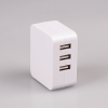 Xinspower WHITE 5V 4.8A 3 USB Port Multifunctional Cheap USB Charger