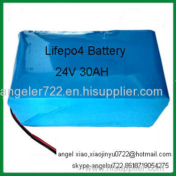 rechargeable batteries lifepo4 24V battery charger 30ah