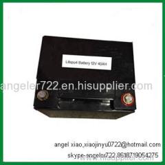 24v 50AH LiFePO4 battery/solar lights battery